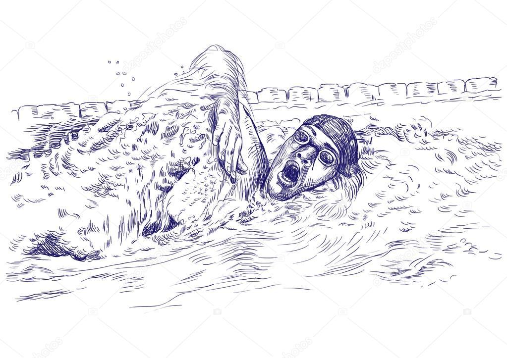 natación — Foto de stock © kuco #18377239
