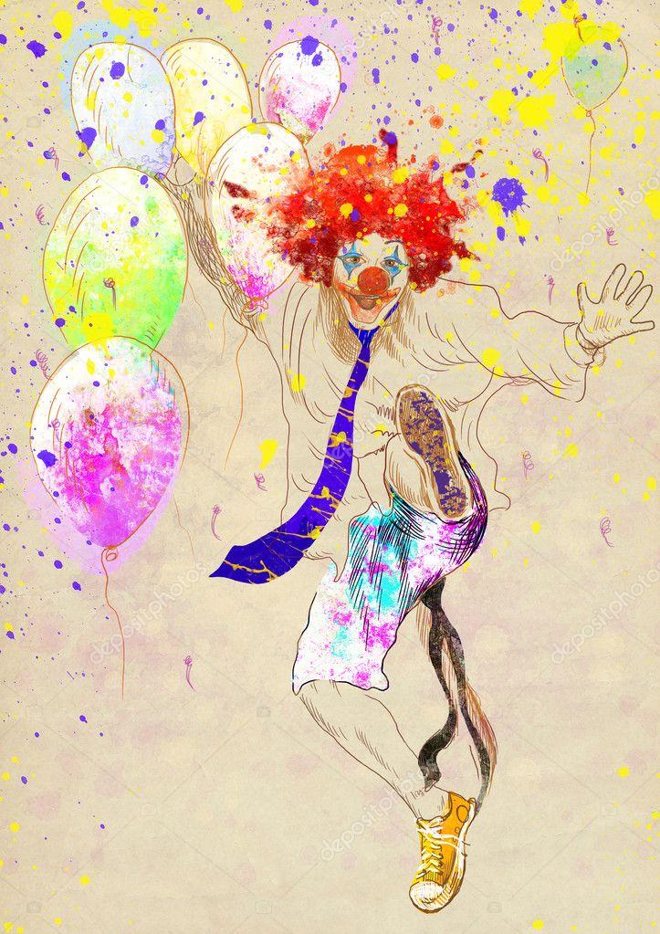 lucky clown