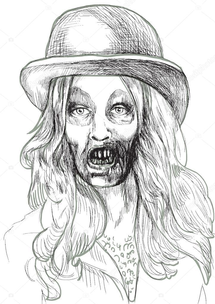 Portrait of an undead 7