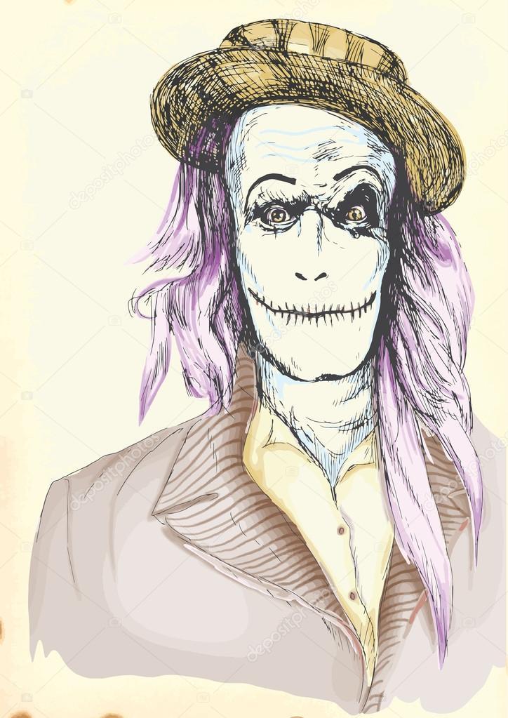 Portrait of an undead 13