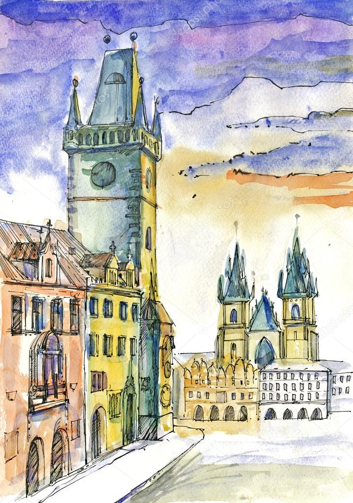 Praha Stock Fotografie C Kuco 23059344