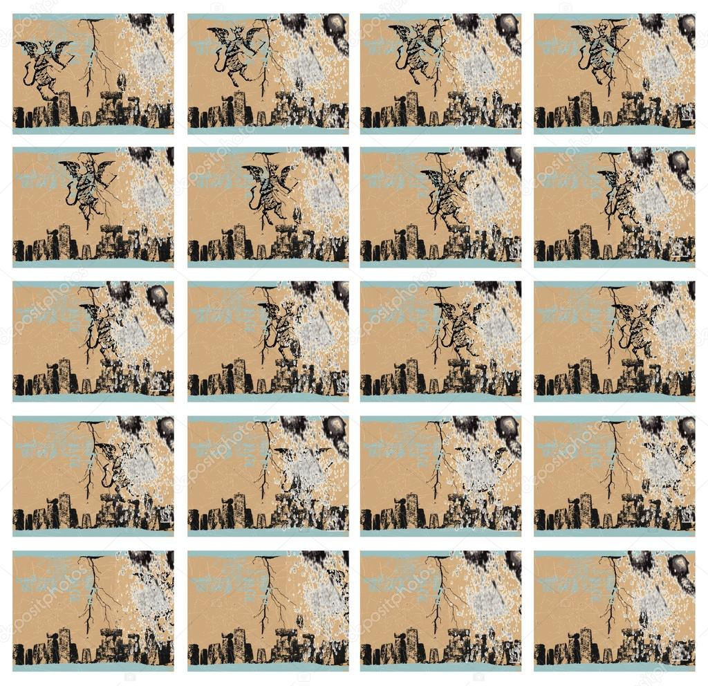 Teufel - 20 Frames aus Filmmaterial animation — Stockfoto © kuco ...