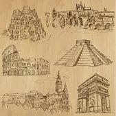 známá místa a architektura
