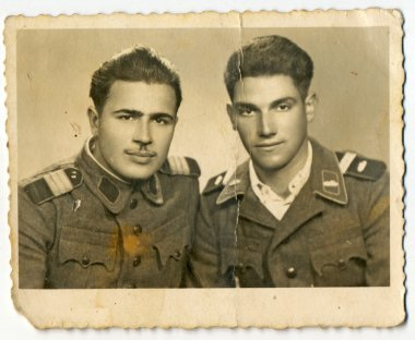 Unknown young soldiers