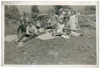 Kids at summer picnics