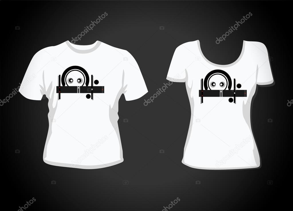T-shirt-Design-Vorlage. enthält Elemente, viele Details. mehr ...