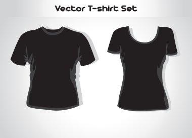 Vector illustration. T-shirt design template