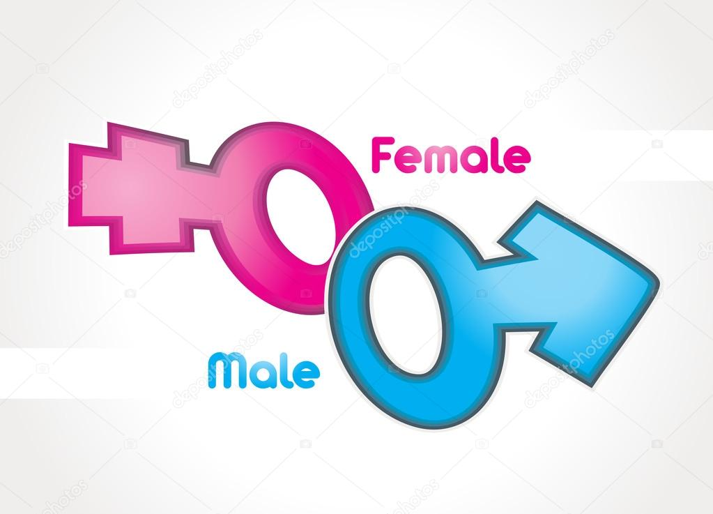 Male And Female Sex Symbol Vector  Stock Vector  Rikky18 33848583-9447