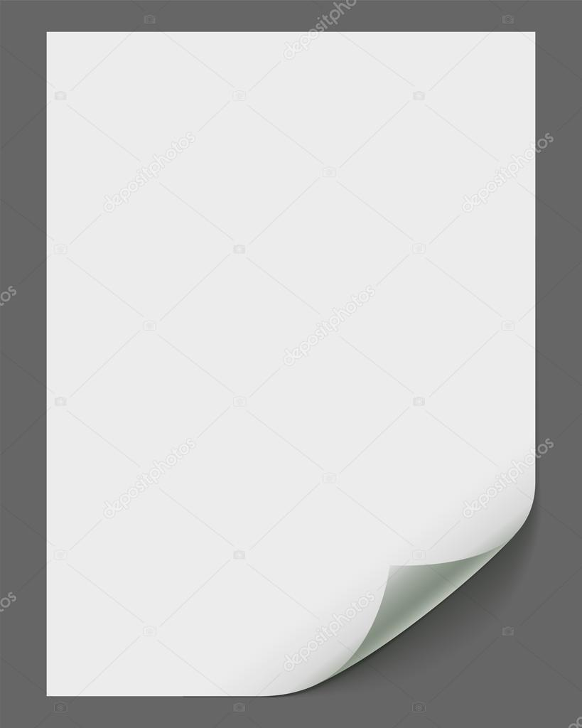 Empty vector paper sheet