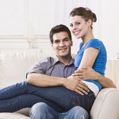 Attractive Couple Relaxing