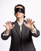 Fotografie Businessman in blindfold