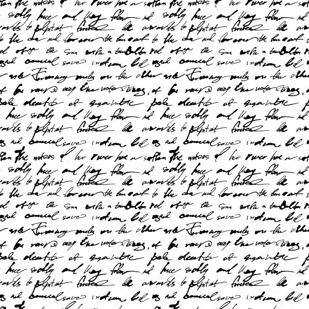 Картинки рукописного текста
