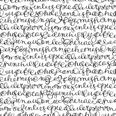 Texture with hand writing abstract text