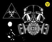 Photo Gas Mask. Biohazard