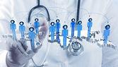 Fotografie medical network concept