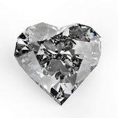 Fotografie Diamant-Herz-Form