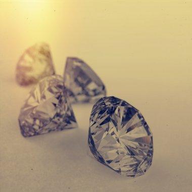 Diamonds 3d model