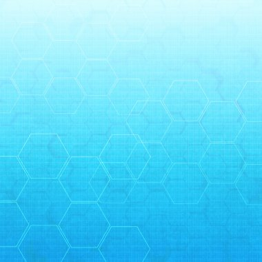 hexagon abstract medical background