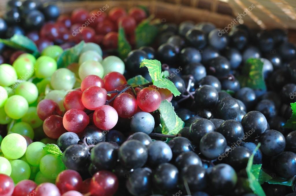 frutas de color negro