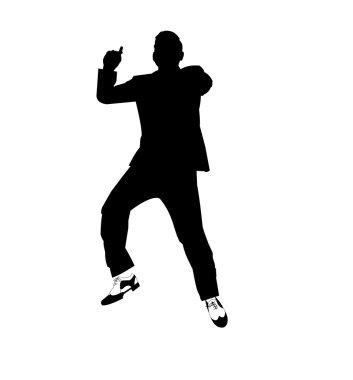 Gangnam style dancer