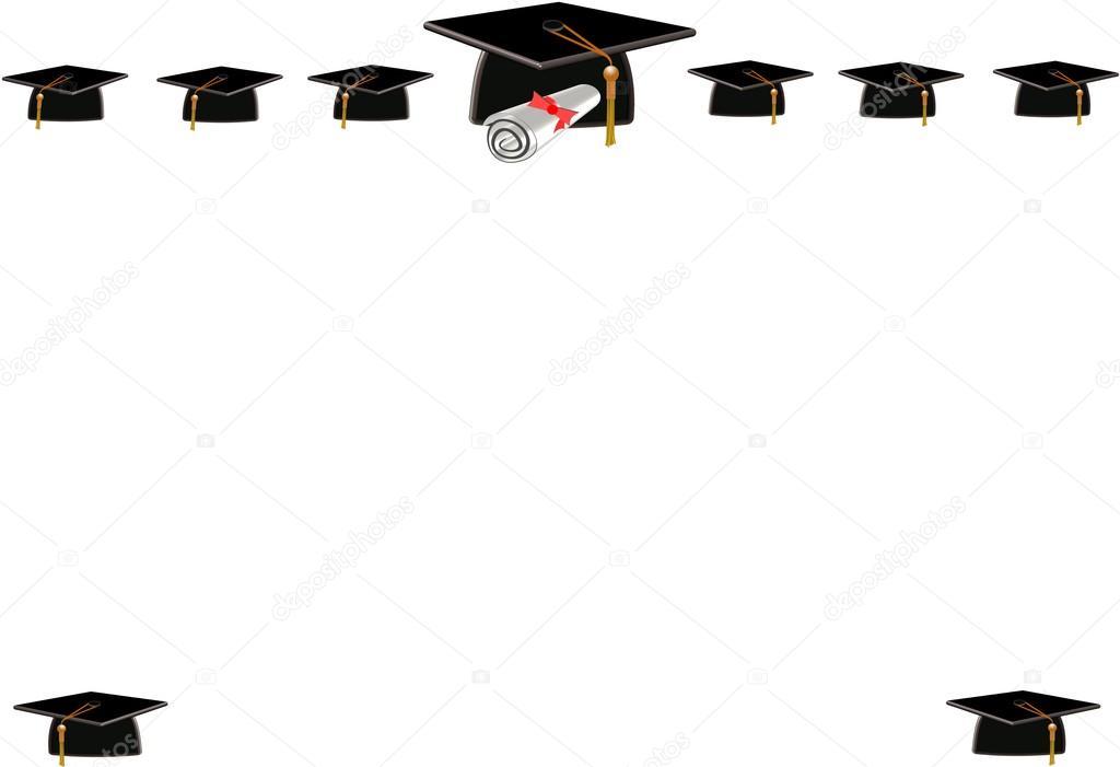 marco de graduación — Foto de stock © retroartist #17614933