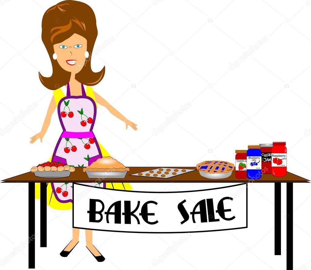 Kuchenverkauf — Stockvektor