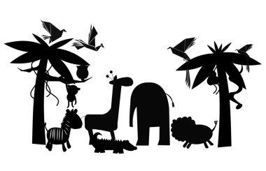 Friends of the jungle