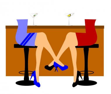 Women at bar