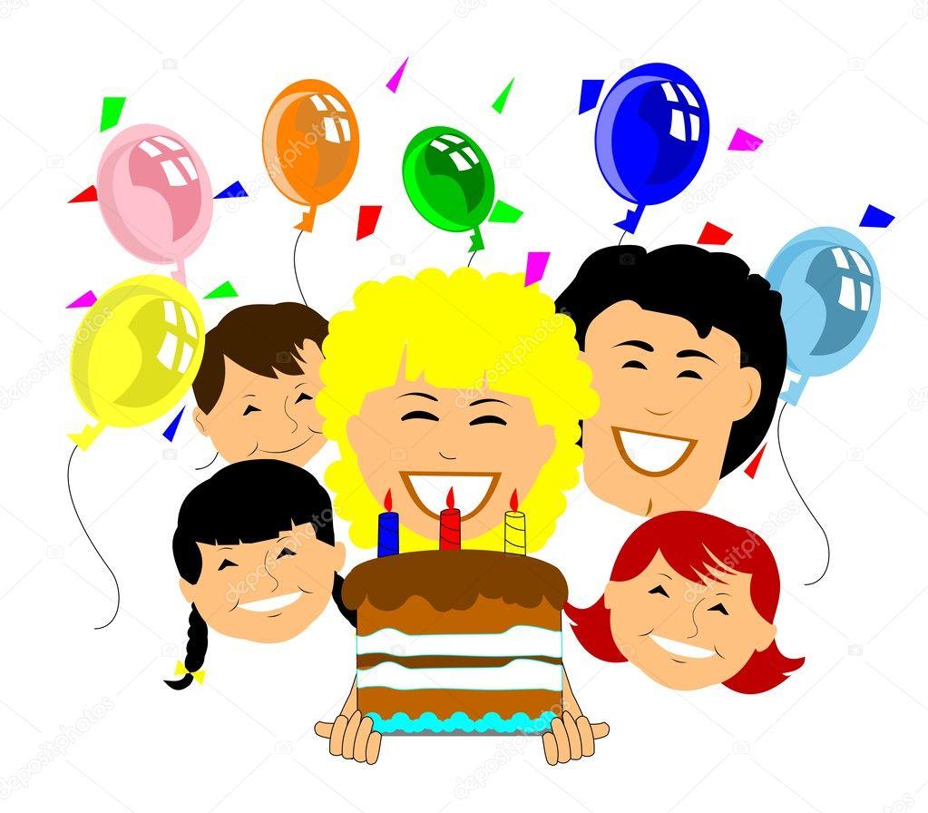 Hartelijk Gefeliciteerd Met Je Verjaardag Stockvector