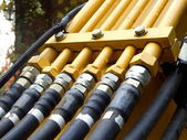 Fotografia manichette e tubi idraulici