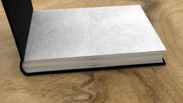 kniha na stůl