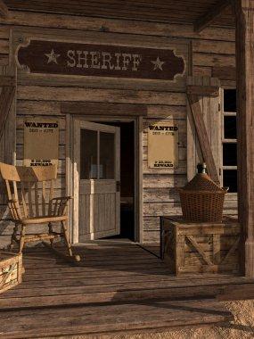 Door to sheriff's office