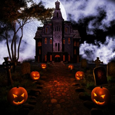 Road to haunted house