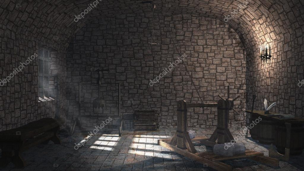 Medieval torture chamber stock photo mppriv 37931381 for Camarade de chambre