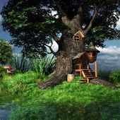 erdei gnome ház