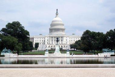 Washington DC capitol stock vector