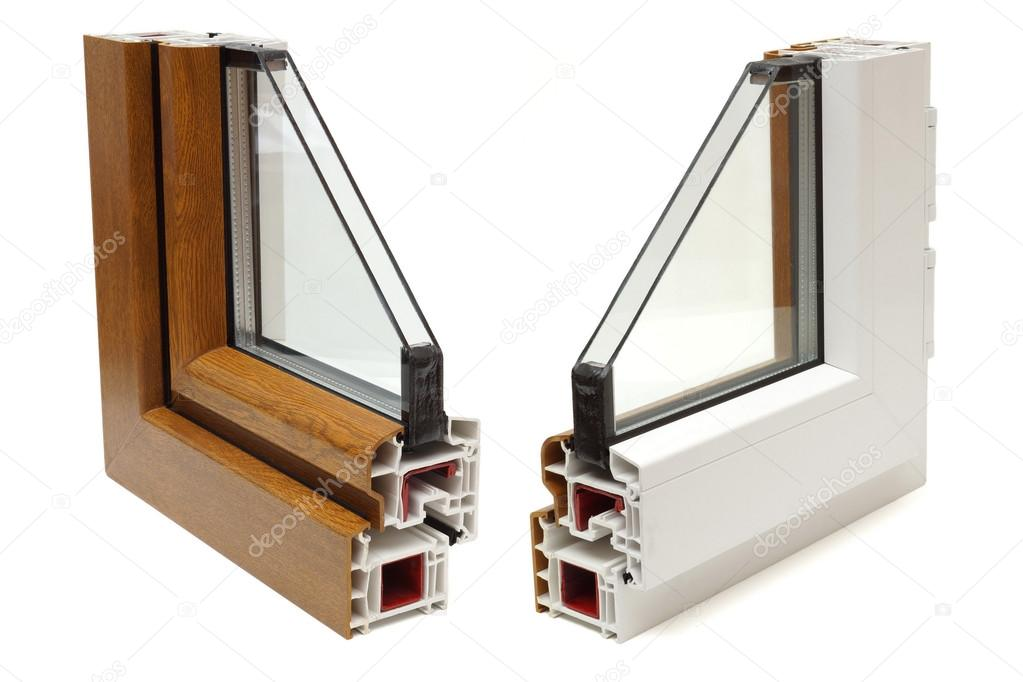 plastic windows profile
