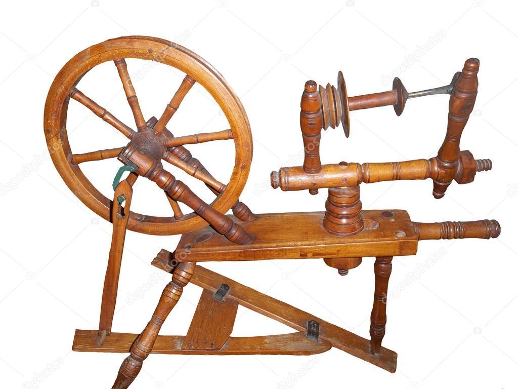 Old Spinning Wheel Stock Photo C Aneczka1983a 26430651