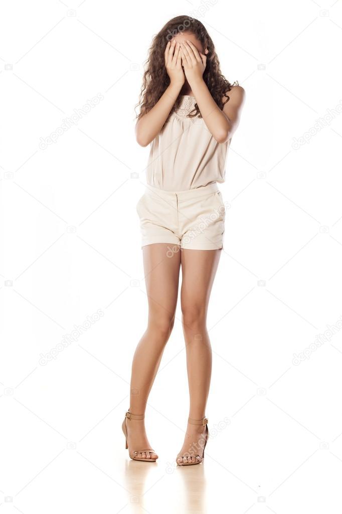 Девочка в белых трусиках прорно фото 287-263