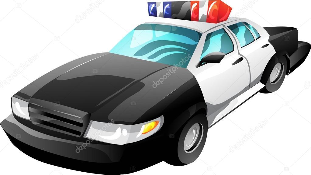 Voiture de police de dessin anim image vectorielle ledav 18226669 - Voiture police dessin anime ...