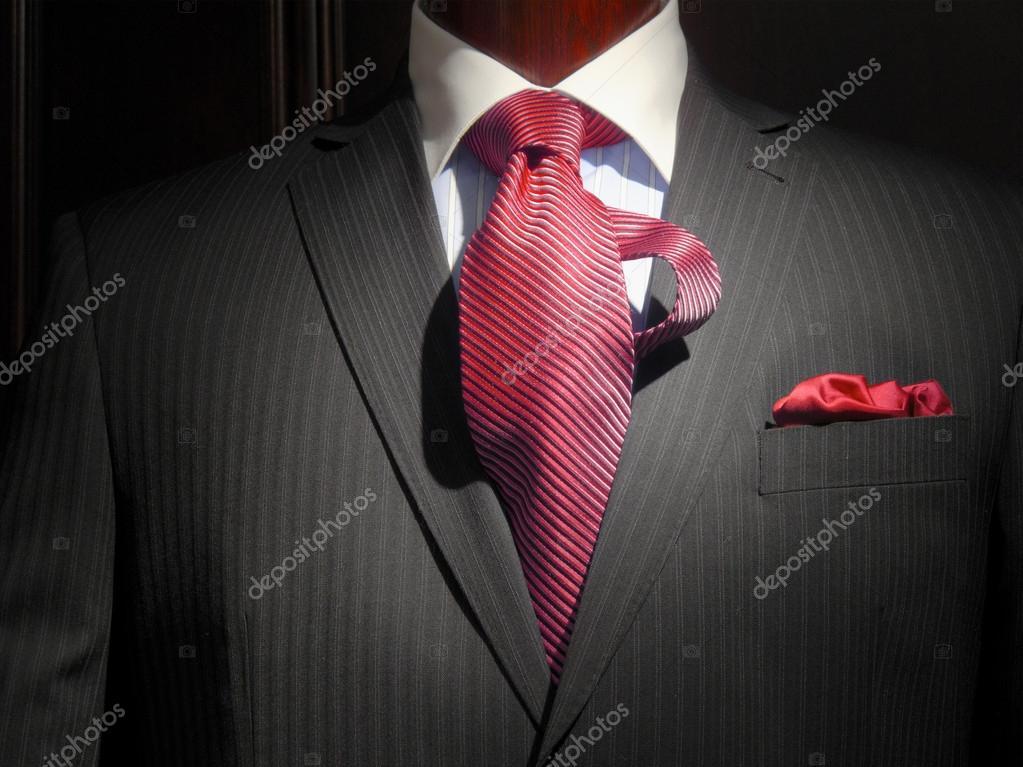 De Rayas Y Chaqueta Con La Pañuelo Corbata A q855wtB6