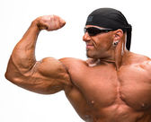 Photo Portrait of bodybuilder