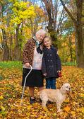 babička a dítě