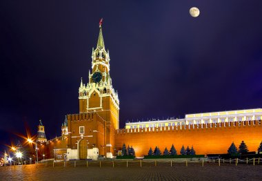 The towers of Moscow the Kremlin