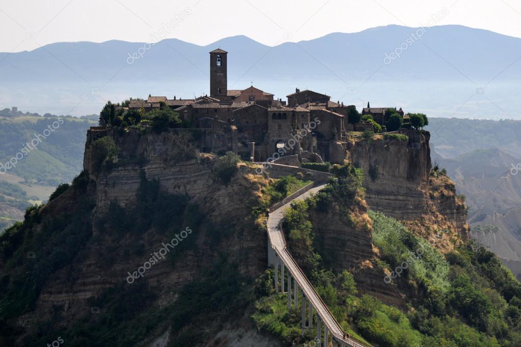 Civita di Bagno Regio — Stock Photo © balin #31019687