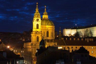 St.Nicholas cathedral in mala strana, Prague