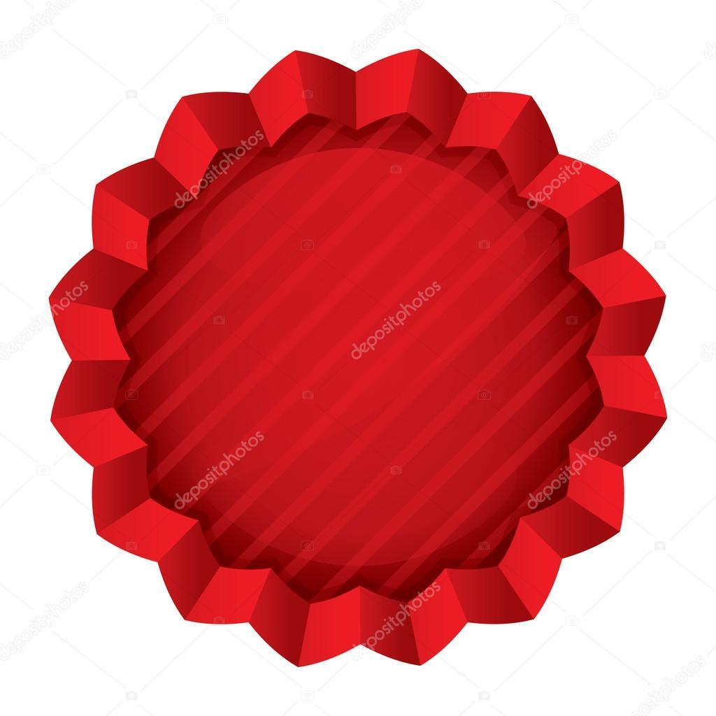 plantilla de etiqueta de precio. pegatina estrella redonda roja ...