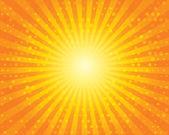 slunce slunce vzorek s kruhy. oranžová obloha.