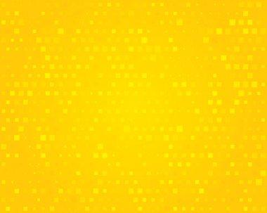Yellow background. Illustration.