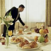 Fotografie Room service continental breakfast